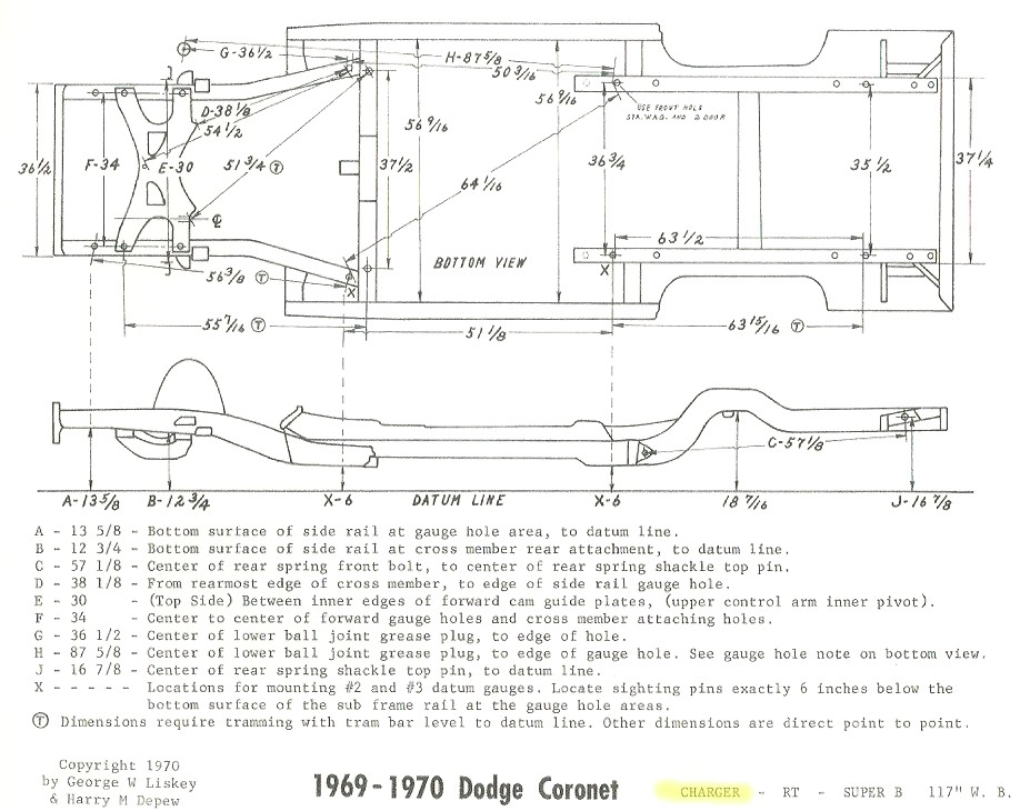 Dodge Charger Frame Diagram on 1972 dodge truck headlight diagrams