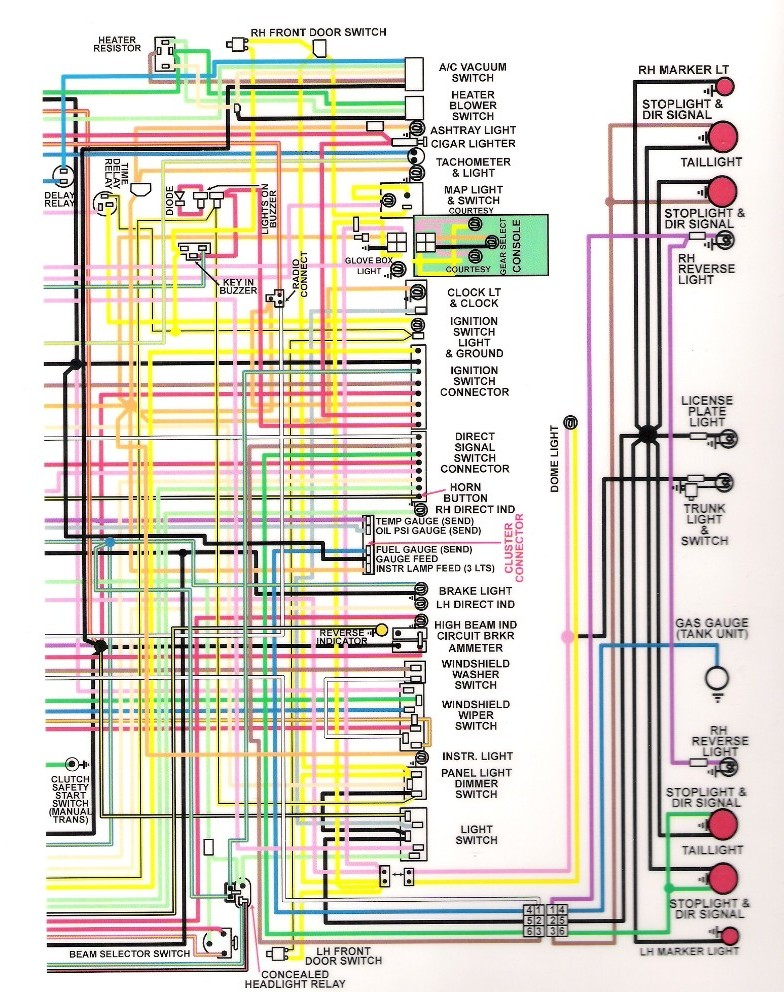 wired 1970 dodge charger registry 1970 dodge charger wiring diagram at gsmx.co